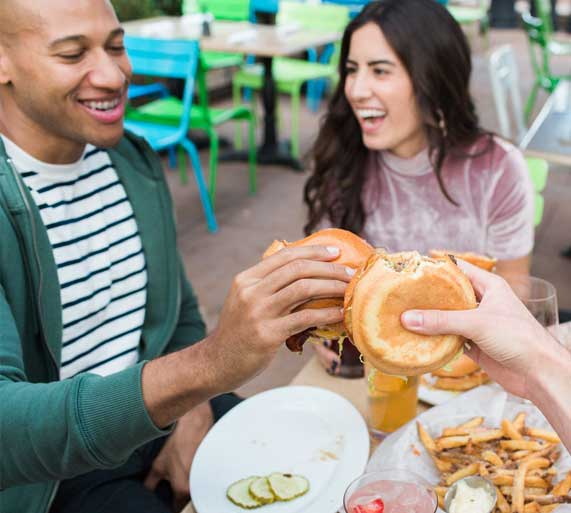 Zinburger is part of the Fox Restaurant Concepts family